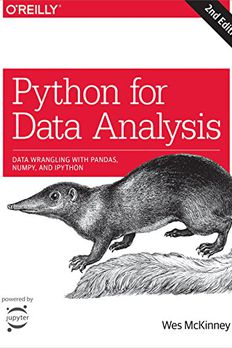 Python for Data Analysis book cover