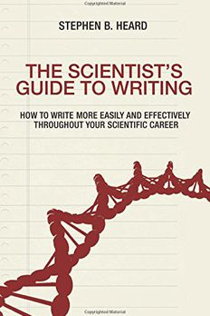 The Scientist's Guide to Writing book cover