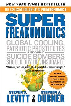 SuperFreakonomics book cover