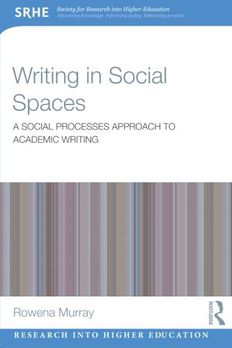 Writing in Social Spaces book cover