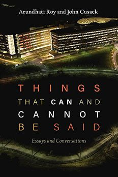 Things that Can and Cannot Be Said book cover