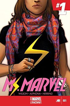 Ms. Marvel (2014-2015) #1 book cover