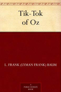 Tik-Tok of Oz book cover