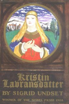 Kristin Lavransdatter book cover