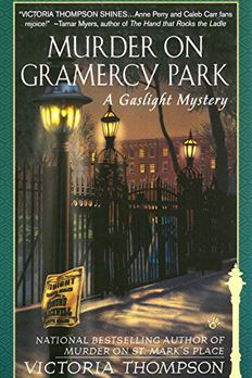 Murder on Gramercy Park book cover
