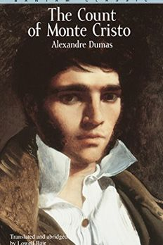The Count of Monte Cristo book cover