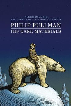 His Dark Materials bind-up book cover