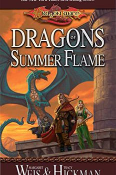 Dragons of Summer Flame book cover