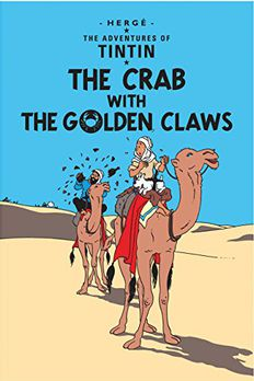 The Crab with the Golden Claws book cover
