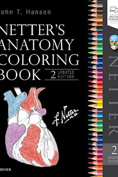Netter's Anatomy Coloring Book book cover