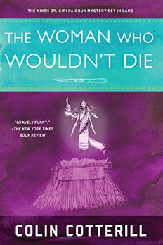 The Woman Who Wouldn't Die book cover