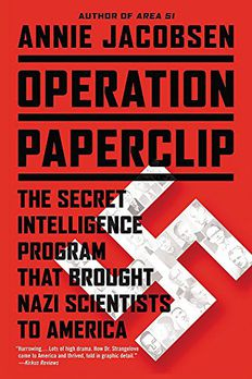 Operation Paperclip book cover
