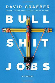 Bullshit Jobs book cover