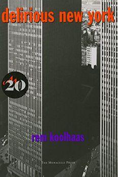 Delirious New York book cover