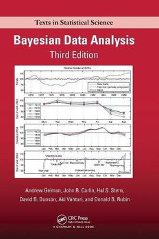 Bayesian Data Analysis book cover