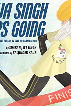 Fauja Singh Keeps Going book cover