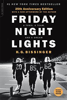 Friday Night Lights, 25th Anniversary Edition book cover