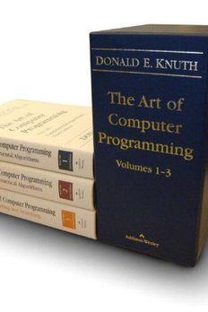 The Art of Computer Programming, Vols. 1-3 book cover