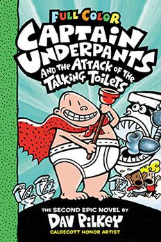 Captain Underpants and the Attack of the Talking Toilets book cover