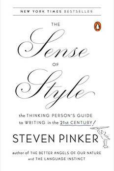 The Sense of Style book cover