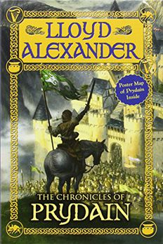 The Chronicles of Prydain book cover