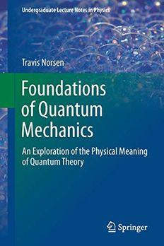 Foundations Of Quantum Mechanics book cover