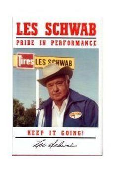 Les Schwab Pride in Performance book cover
