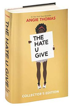 The Hate U Give Collector's Edition book cover