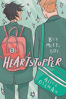 Heartstopper Vol 1 book cover