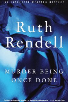 Murder Being Once Done book cover