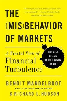 The Misbehavior of Markets book cover