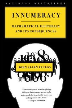 Innumeracy book cover