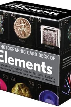 By Theodore Gray & Nick Mann Photographic Card Deck of the Elements [Paperback] book cover