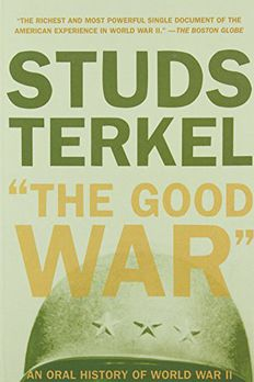 The Good War book cover
