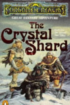 The Crystal Shard by R. A. Salvatore book cover
