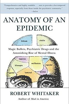 Anatomy of an Epidemic book cover