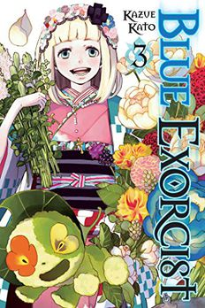 Blue Exorcist, Vol. 3 book cover