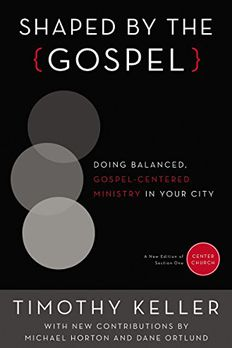 Shaped by the Gospel book cover