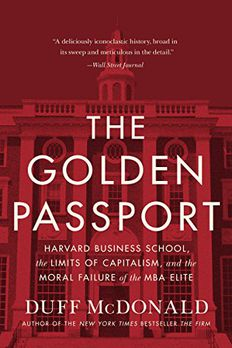The Golden Passport book cover