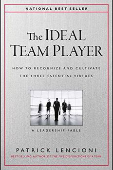 The Ideal Team Player book cover