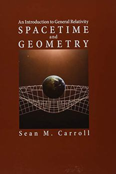 Spacetime and Geometry book cover