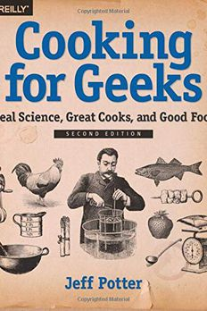 Cooking for Geeks book cover