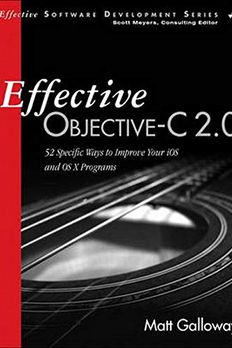 Effective Objective-C 2.0 book cover