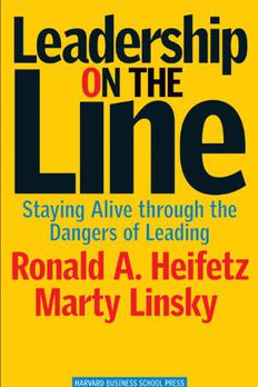 Leadership on the Line book cover