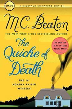 The Quiche of Death book cover