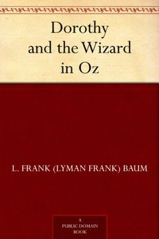Dorothy and the Wizard in Oz book cover