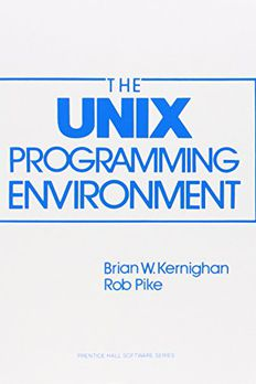 The Unix Programming Environment book cover