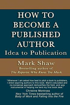 How to Become a Published Author book cover