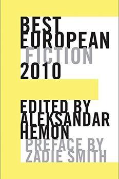 Best European Fiction 2010 book cover