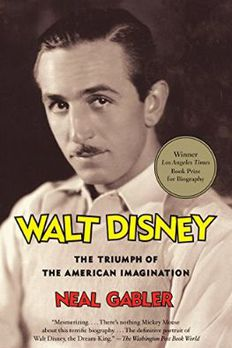 Walt Disney book cover